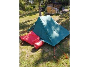 Tält +2 sovdäckar. (413112733) ᐈ Köp på Tradera