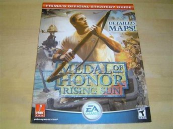 MEDAL HONOR RISING SUN SPELGUIDE GUIDE WALKTHROUGH *NYTT*