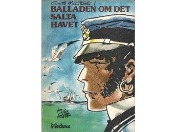 Corto Maltese - Balladen om Det Salta Havet VG - Vikingstad - Corto Maltese - Balladen om Det Salta Havet VG - Vikingstad