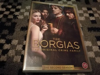 DVD BOX - The Borgias - Hela Säsong 2 .  (4-DVD)