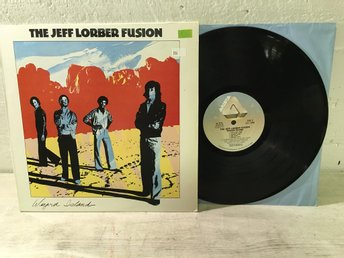 The Jeff Lorber Fusion - Wizard Island US Orig-80 TOPPEX !!!!!