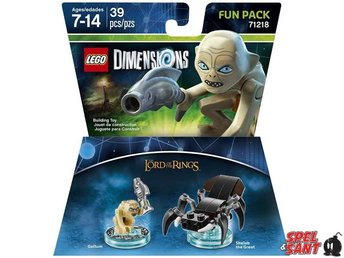 Lego Dimensions The Lords of the Rings Gollum Fun Pack 71218