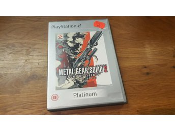 METAL GEAR SOLID 2 SONS OF LIBERTY BEG PS2