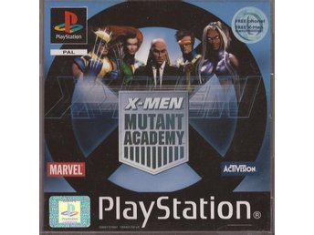 X-MEN MUTANT ACADEMY - PS1/PS2 Komplett