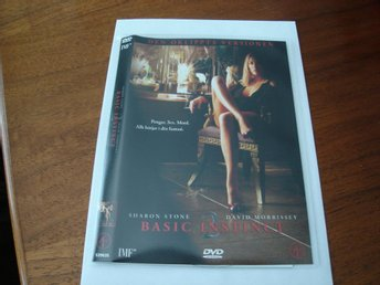 DVD-BASIC INSTINCT 2 *Sharon Stone*
