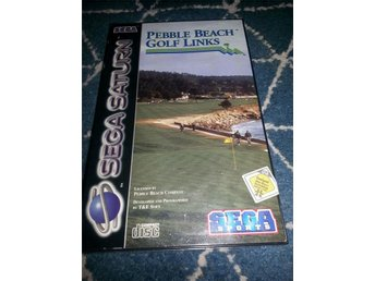 Pebble  beach Golf Links - Sega - Saturn