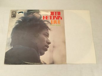 JIMI HENDRIX & CURTIS KNIGHT Live In New Jersey LP NCB 1965