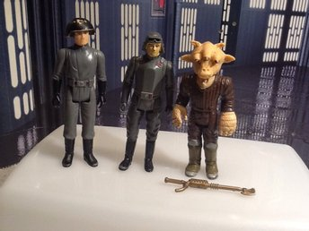 Star Wars Vintage 3 figurer