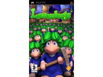 Lemmings - Playstation PSP