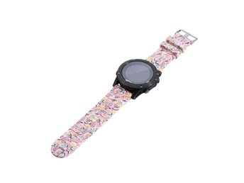 Garmin Fenix 5 silicone watchband strap - Colorized Pattern