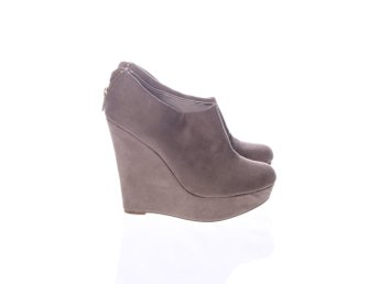 Shoes By Teddy, Kilklackar, Strl: 38, Beige, Mockaimitation