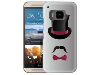 HTC One M9 Skal Top Hat Mustasch