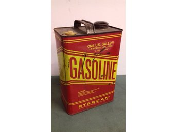 ONE U.S GALLON GASOLINE STANCAN Bensina