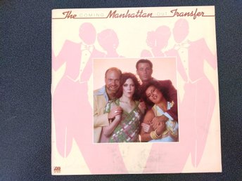"LP vinyl The Manhattan Transfer ""Coming Out"" i bra skick"
