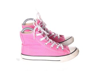 All Star, Sneakers, Strl: 33, Rosa/Vit