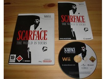 Wii: Scarface the World is Yours