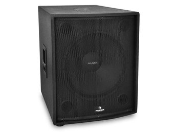 "Auna passiv PA-subwoofer 46cm (18"") PA-högtalare 1250W RMS"