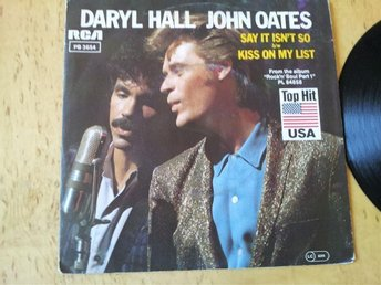 Daryl Hall  John Oats - Say it isn't so - Kiss on my list