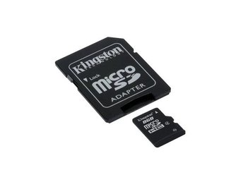 8GB Kingston MicroSDHC Class4