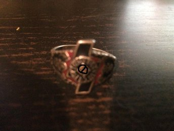 Ring, WW2, nazi, NS - Bettna - Ring, WW2, nazi, NS - Bettna