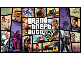 GTA V - Grand Theft Auto 5 - Steam Digitalkod - Stockholm - GTA V - Grand Theft Auto 5 - Steam Digitalkod - Stockholm