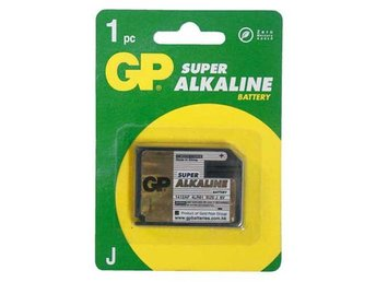 GP Super Alkaline 1412AP/539/7K67/4LR61, 1-pack