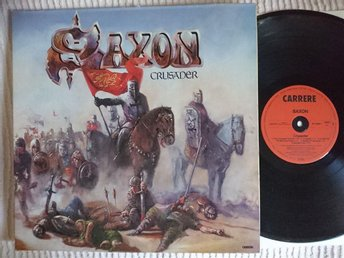 SAXON - CRUSADER 1984 GATEFOLD  EXCELLENT!