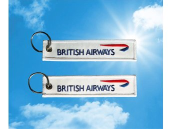 British Airways nyckelring