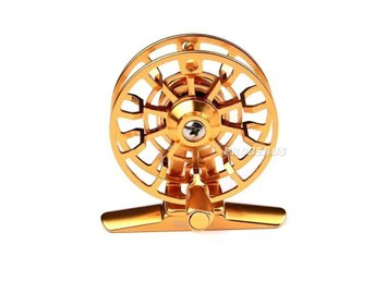 Flugfiskerulle. Top Quality Fishing Reel  Gold Fly Reel 45g Fly Fishing HI-55