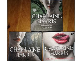 "3 Ljudböcker från ""true blood-serien"" om Sookie Stackhause av Charlaine Harris"