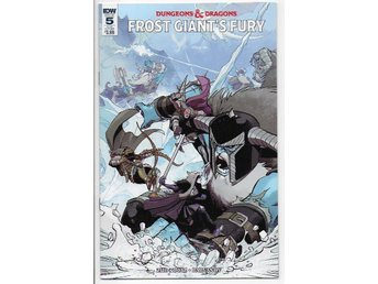 Dungeons & Dragons: Frost Giant's Fury # 5 SUB Cover NM Ny Import