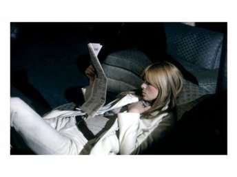Poster - Nico reclines, The Factory NYC