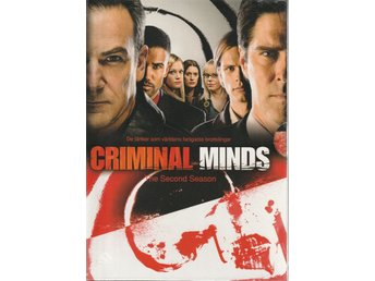 Criminal Minds säsong 2 Box - 6-DVD NY