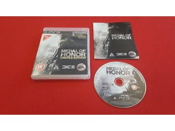 MEDAL OF HONOR LIMITED EDITION till Sony Playstation 3 PS3