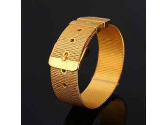 Armband U7 Stainless Steel Bracelet Men J Gold-color