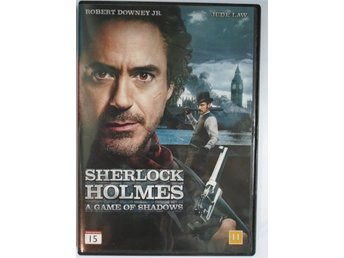 Sherlock Holmes - A game of shadows med bl a Robert Downey Jr, Jude Law & Noomi