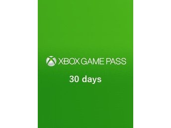 Se Pris! Xbox One Game Pass Trial 30 dagar - XBOX LIVE
