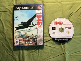 1945 1&2 THE ARCADE GAMES PS2 PLAYSTATION 2 PLAY IT