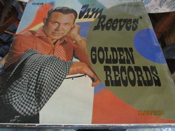 JIM REEVES - GOLDEN RECORDS - LP