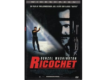 DVD Ricochet med Denzel Washington