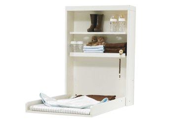 Baby Dan - Manhattan Changing Table Wall - White (4121-01)