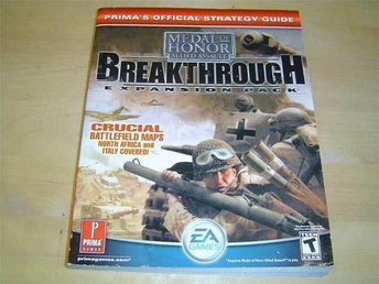 MEDAL OF HONOR BREAKTHROUGH GUIDE WALKTHROUGH *NYTT*