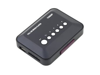 Media Player Mediaspelare 1080P HD USB HDMI SD/MMC