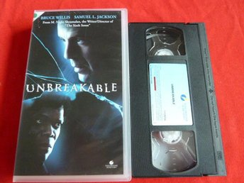 UNBREAKABLE,  VHS, FILM