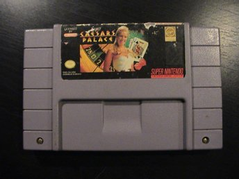 SUPER CAESARS PALACE  / SUPER NINTENDO SNES / USA IMPORT