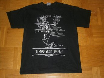 34 000 Ton Metal (T-Shirt) L (24/25 September 2004)