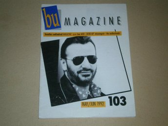 Beatles Unlimited #103 (Maj / Juni 1992) - Fint Skick!