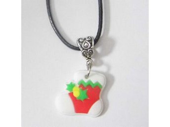 Jul strumpa halsband / Christmas stocking necklace