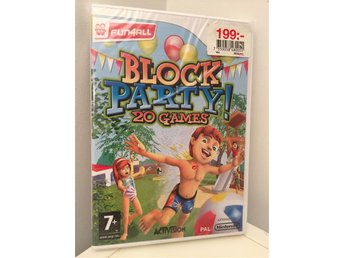 Block Party Nintendo Wii (Ny)
