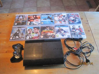 PLAYSTATION 3 SPEL 10 ST
